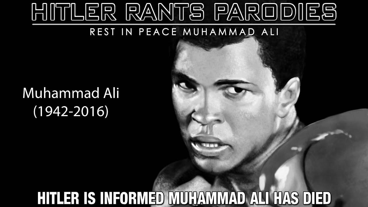 Hitler is informed Muhammad Ali has died
