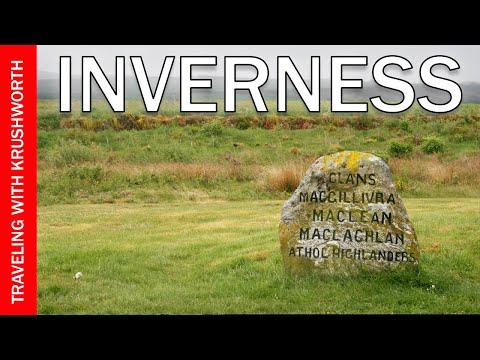 Visit Inverness Scotland UK Tourism | Loch Ness Scotland/Culloden Battlefield | Travel Guide Video