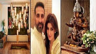 Wow… कितना खूबसूरत है अक्षय कुमार का घर...!! | Inside Pics Of Akshay Kumar's Residential House