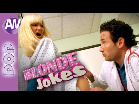 Blonde jokes dumb blondes