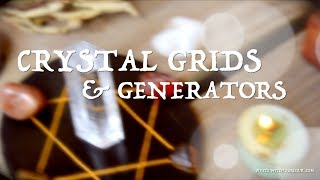 Crystal Grids & Generators ~ The White Witch Parlour