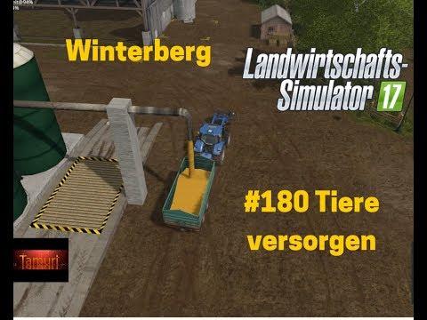 LS17 Winterberg Tiere und mehr Let`s Play #180 Tiere versorgen