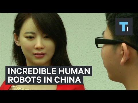 china robot goddesses