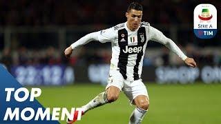 Ronaldo Equals Juve Record | Fiorentina 0-3 Juventus | Top Moment | Serie A