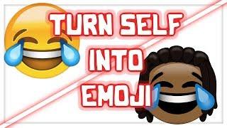 Drawing Myself as an Emoji! - Speedart