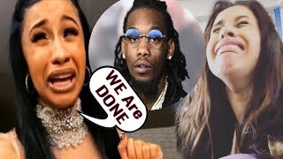 Cardi B Messy Break Up/Divorce from Offset after cheating rumors FULL STORY MUST WATCH