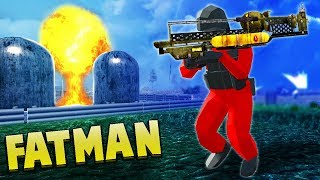 NUKE Launcher! Ravenfields NEW Fallout 4 Fat Man & Paintball (Ravenfield Beta Gameplay)