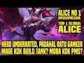 Hal Yang Gw Pelajari Dari Top 1 Global ALICE NO_1_INDONESIA • Mobile Legends Indonesia MP3