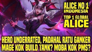 Hal Yang Gw Pelajari Dari Top 1 Global ALICE NO_1_INDONESIA • Mobile Legends Indonesia