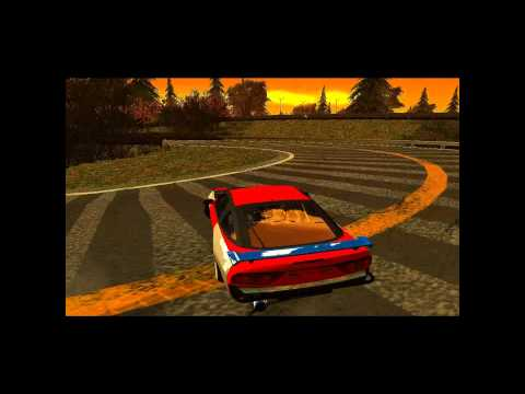 Gta San Andreas Edem Hill Map.....My First Drift Video [1080 HD]