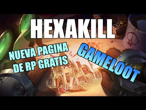 HEXAKILL !!! NUEVA PAGINA PARA RP GRATIS | GAMELOoT