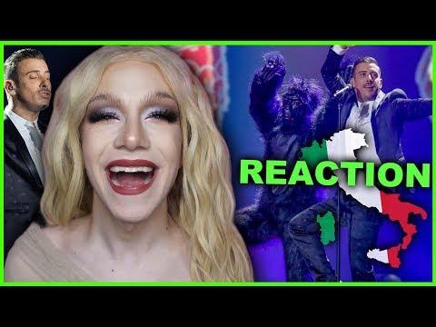ITALY - Francesco Gabbani - Occidentali's Karma | Eurovision 2017 Reaction