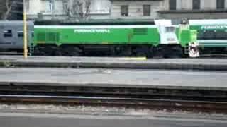 video La flamante y recien reparada GT22 9026 de ferrocentral, recien llegada de Córdoba, el sábado 23/08/08.