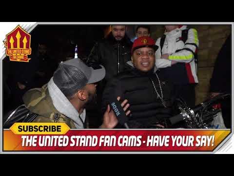 Solskjaer Schools Sarri Chelsea vs Manchester United 0-2 FanCam