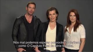 William Levy @willylevy29 invites fans worldwide to see trailer of Resident Evil: The Final Chapter