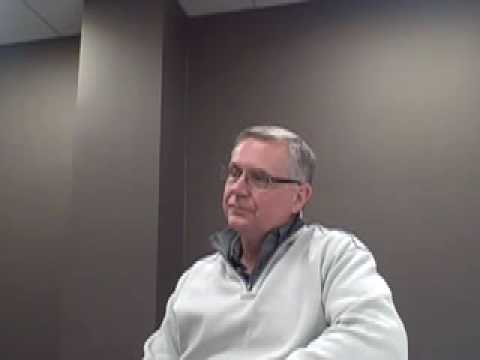 0 Gary Gaussoin discusses efficiency in the trucking industry