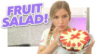 How To Make a Fruit Salad | iJustine