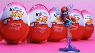 Winx Club 2014 Kinder Joy Surprise Kinder Sorpresa Alegría
