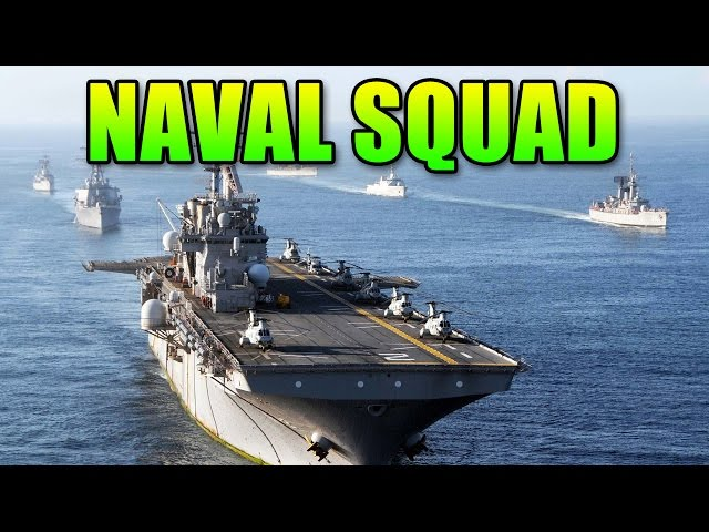 Squad Up In The Navy | Battlefield 4 Teamwork Gameplay