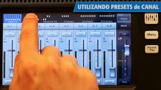 QSC TouchMix Training: 03 Preset Libraries & Mixer Scenes (Spanish)
