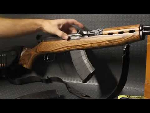 SKS drop free bolt mod HOW TO ZRUS