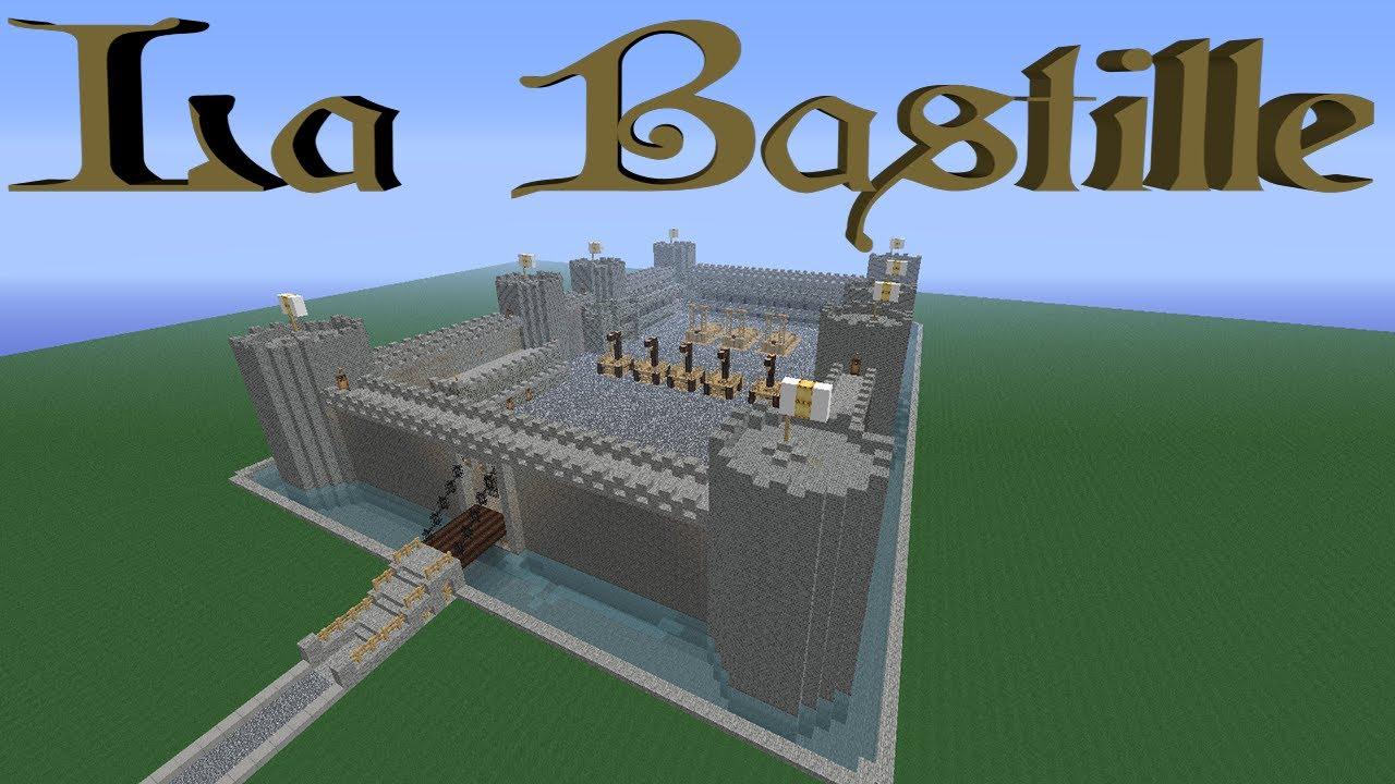 La Bastille dans Minecraft - YouTube