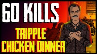 60 Kills TRIPLE CHICKEN DINNER  with Gaitonde   Jack Shukla Live