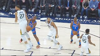 Chris Paul Fools & Embarrasses Rudy Gobert With Fake Play! Thunder vs Jazz 2019 NBA Season