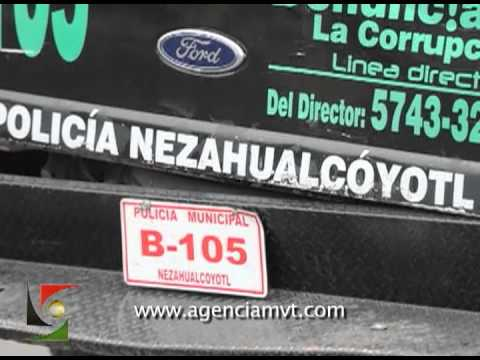 Enfrentamiento a balazos cobra la vida de dos policías municipales en Nezahualcoyotl