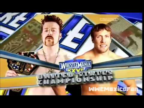 Wwe Wrestlemania 27 Full Match Card video
