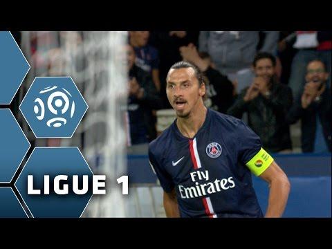 Le triplé d'Ibrahimovic PSG-ASSE (5-0) / Ligue 1 / 2014-15