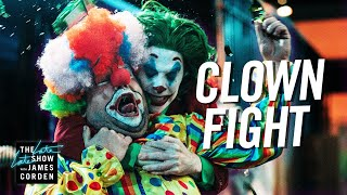 Regular Clowns Brawl with Pennywise & Joker