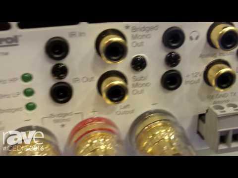 CEDIA 2016: AudioControl Unveils Its Rialto 600 High Performance Integrated Amplifier