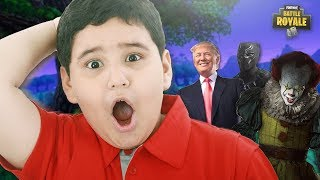 """VOICE Impressions Absolutely Shock FORTNITE Players! """"What's Going On?!"""""""