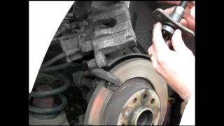 2006 Saab 93 9-3 Brake Pads and Rotors Replacement – Part I of II