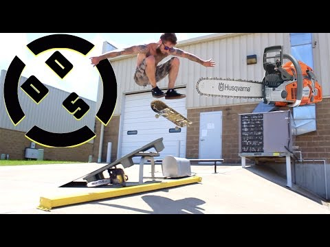 Sketchy Chainsaw Supported Ramp!  DDS EP. 9