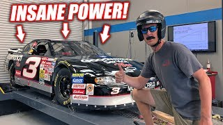 Riding In a LEGIT 800hp Dale NASCAR! Absolutely RIPS! (8500rpm)