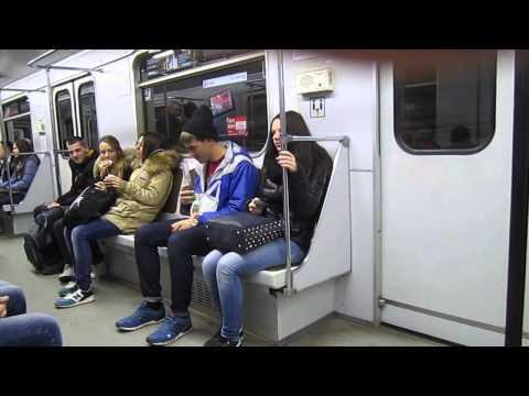 Пранк в метро / subway prank