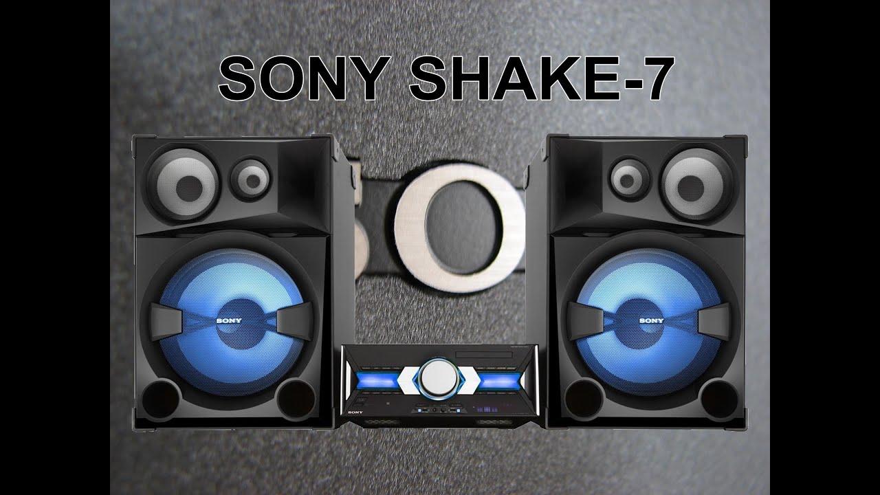 Lan U00e7amento 2013 - Mini System Sony Shake-7