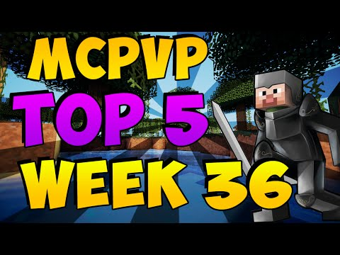 Minecraft PVP MCPVP Top 5 Week 36 Endermage Mistakes