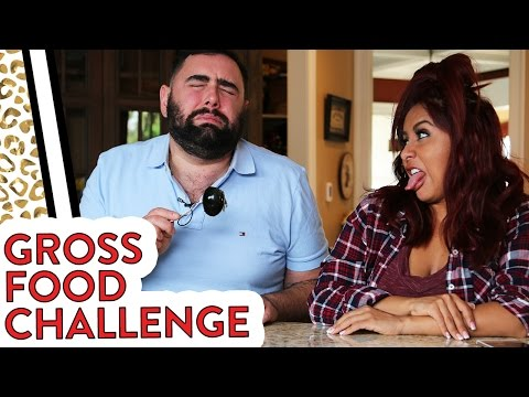 Gross Food Challenge with Snooki & Joey