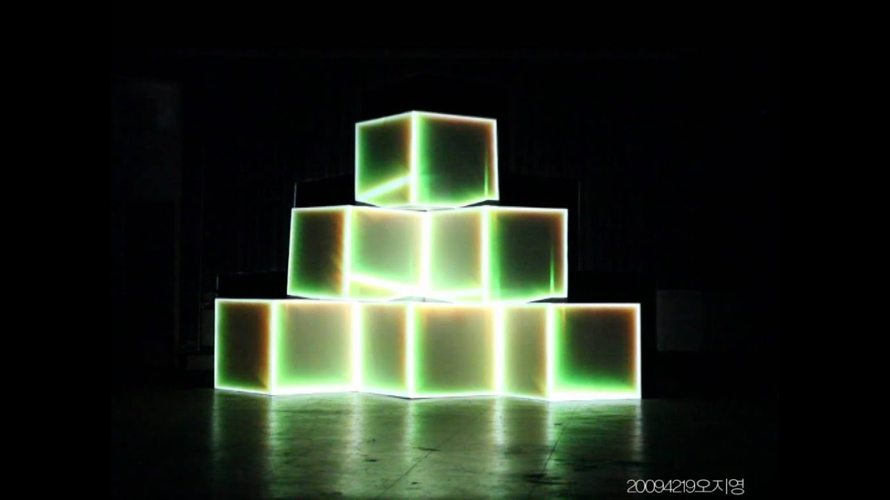 """Projection Mapping Cubes Cube-""""mapping Projection"""