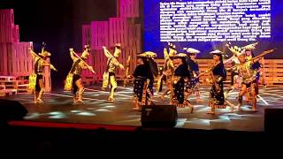 Ule Nugan dance by the Energetic Life Media Dance Group - Festival Tari Malaysia 2017