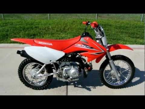 2009 Honda CRF70F Dirt Bike: Overview and Review
