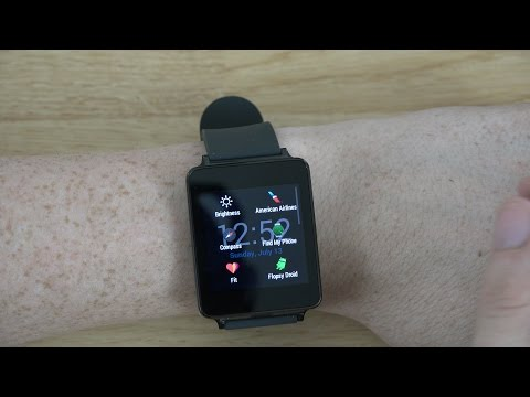 Wear Mini Launcher - App Review for Android Wear! (LG G Watch)