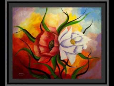 Tres jolie tableaux de peinture moderne youtube for Peinture moderne