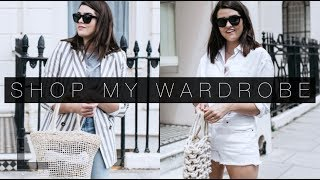 How To Shop Your Wardrobe & Five Summer  Outfits | The Anna Edit