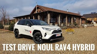 Cum merge? Noua Toyota RAV4 Hybrid - Test Drive AutoBlog.MD 4K