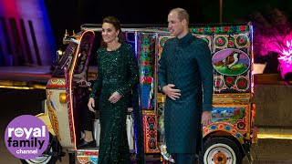 Duke and Duchess of Cambridge Arrive at Pakistani Reception in Style!