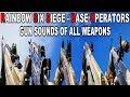 Rainbow Six Siege 2018    Gun Sounds Of All Weapons [BASE OPERATORS]
